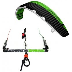 "Flysurfer Sonic2 9.0 -""ready to fly"" w/ Infinity 3.0 Airstyle Control Bar"