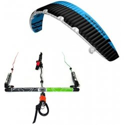"Flysurfer Sonic2 11.0 -""ready to fly"" w/ Infinity 3.0 Airstyle Control Bar"