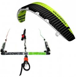 "Flysurfer Sonic2 18.0 -""ready to fly"" w/ Infinity 3.0 Airstyle Control Bar 60cm"