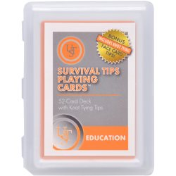 UST Survival Tips Playing Cards with Knot Tips
