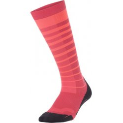 2XU Striped Run Compression Socks Women