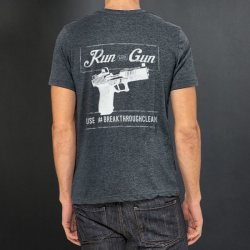 Breakthrough Run and Gun Men's Crew Neck Short Sleeve Tee