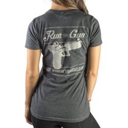 Breakthrough Run and Gun Women's Crew Neck Tee