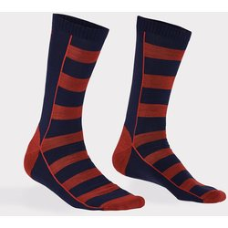 Mons Royale All Rounder Stripes Crew Sock Men