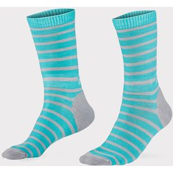Mons Royale All Rounder Stripes Crew Sock Women