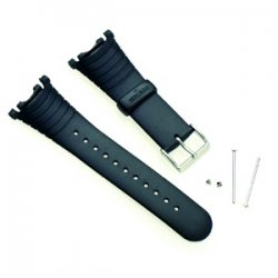 Suunto Elastomeeriranneke Vector Strap R Black: Vector, Advizor, Altimax, Mariner, Regatta & D3 (SS004768000)