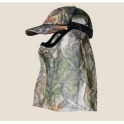 Seeland Mossy Oak Cap with Facecover