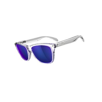Oakley Frogskins, Polished Clear/Violet Iridium