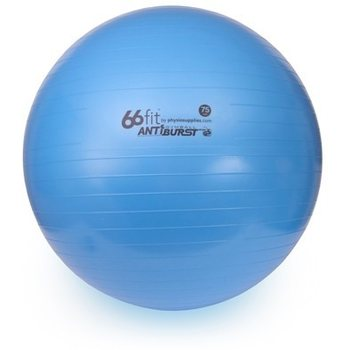 66fit Gym Ball 75cm with Pump & DVD