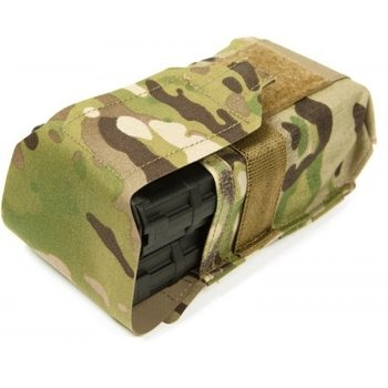 Blue Force Gear Double SR25 Magazine Pouch, OD Green
