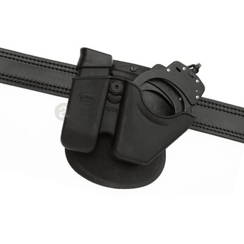 Fobus Paddle Handcuff and Magazine Pouch for Glock