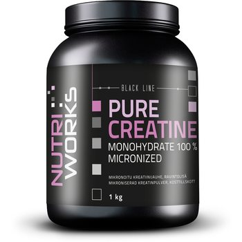 Nutri Works Black Line Pure Creatine Monohydrate 100%, 1kg