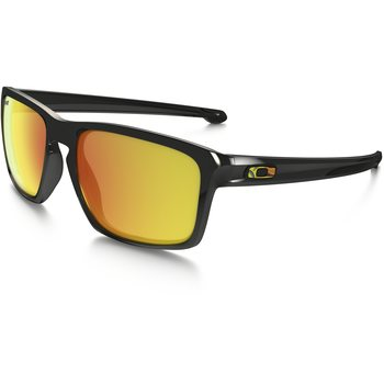 Oakley Sliver, VR46 Polished Black w/ Fire Iridium