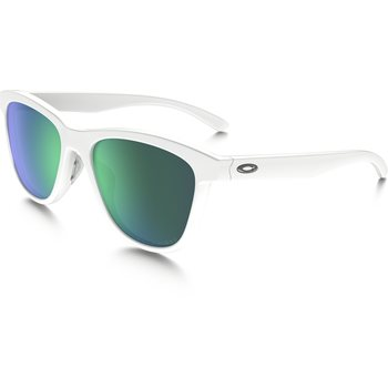 Oakley Moonlighter, Polished White w/ Jade Iridium Polarized