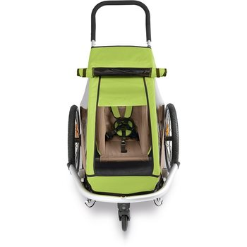 Croozer Sun Cover Kid for 1, Meadow Green
