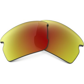 Oakley Flak 2.0 Replacement Lens Kit, Ruby Iridium