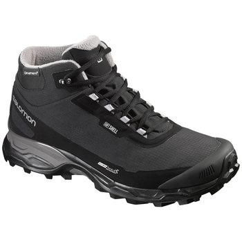 Salomon Shelter Spikes CS WP, Black/Black/Pewter, UK 9 (EUR 43 1/3)