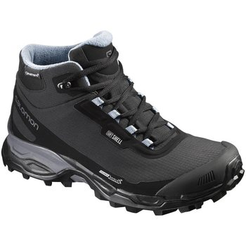 Salomon Shelter Spikes CS WP Women, Black/Black/Windy, UK 4 (EUR 36 2/3)