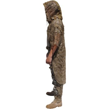 Tactical Concealment KING Cobra, KC-2 Body Includes Adj. Hood (Sleeve upgradable) OD Green, Tight Grid # 89C5140