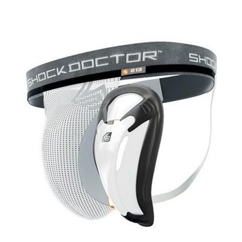 ShockDoctor Core Supporter with Bio-Flex Cup, L
