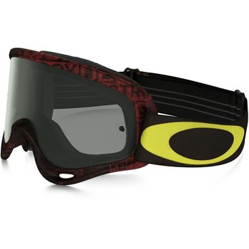 Oakley O-Frame Mx, Tagline Red Yellow w/ Dark Grey