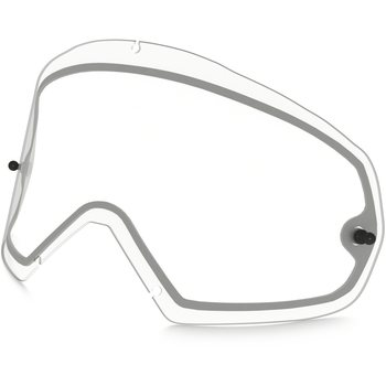 Oakley Mayhem Pro Mx Dual Replacement Lens, Clear