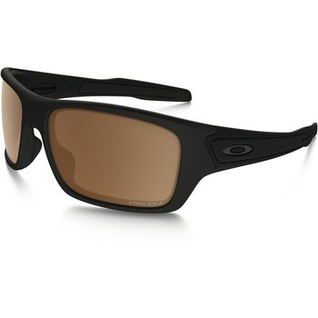 Oakley Turbine, Matte Black w/ Prizm Tungsten Polarized
