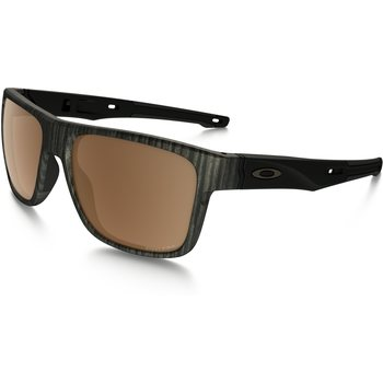 Oakley Crossrange Woodgrain w / Prizm Tungsten Polarized