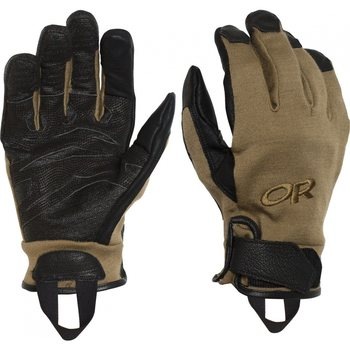 Outdoor Research MGS Midweight Combat Gloves, Coyote, L
