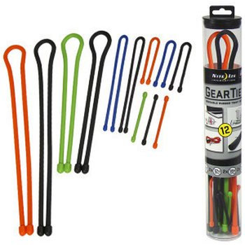 Nite-ize 12 Pack Gear Tie Tube Assortment