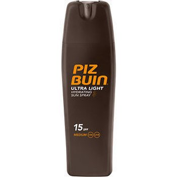 Piz Buin Ultra Light Hydrating Sun Spray SK15, 200 ml