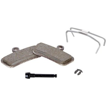 Sram Disc Brake Pad Set for Trail/Guide, Organic Pad Steel Plate