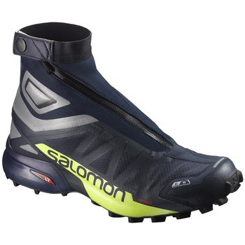 Salomon Snowcross 2 CSWP, Navy Blaze/Reflective Yellow, EUR 42 (UK 8.0)