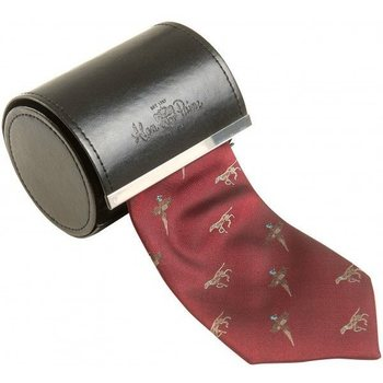 Alan Paine Ripon Silk Tie Bird + Dog Desing