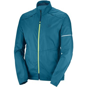 Salomon Agile Wind JKT M, Moroccan Blue, XL
