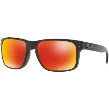 Oakley Holbrook, Polished Black w/ Prizm Ruby Polarized