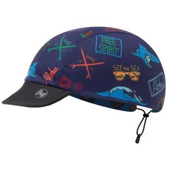 Buff Cap Child, Surf Traveller Blue