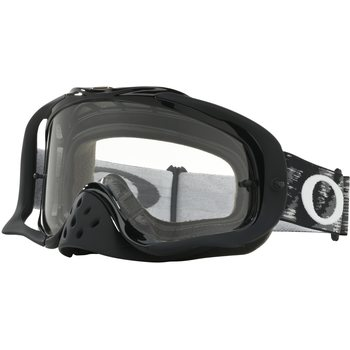 Oakley Crowbar Mx, Jet Black w/ Clear
