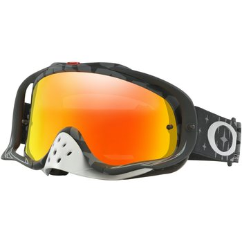 Oakley Crowbar Mx, Troy Lee Desings w/ Fire Iridium