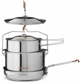 Primus CampFire Cookset Stainless Steel - Large