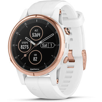 Garmin Fenix 5S Plus Sapphire Rose Gold w/ band