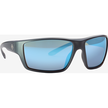 Magpul Terrain Eyewear, Polarized - Gray / Rose, Blue Mirror