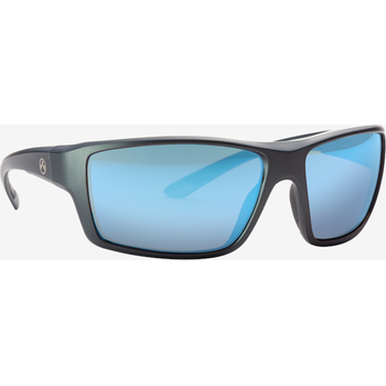 Magpul Summit Eyewear, Polarized - Gray / Rose, Blue Mirror