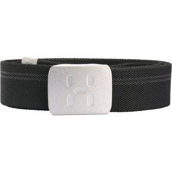 Haglöfs Stretch Webbing Belt, True Black, One size