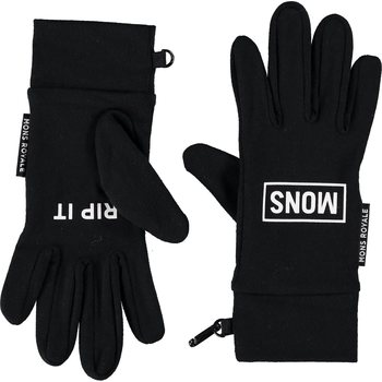 Mons Royale Elevation Gloves, Black, M