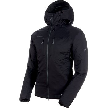 Mammut Rime IN Flex Hooded Jacket Men, Black - Phantom, S