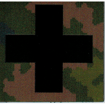 InfraredID Medic Cross 5x5cm