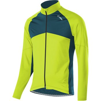 Löffler Bike LS Jersey Block Mens, Lime, 52