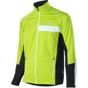 Löffler Jacket Worldcup WS Softshell Light Men, Lime, 48
