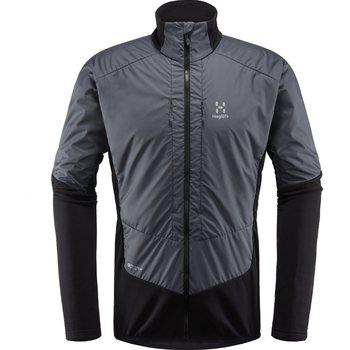 Haglöfs Touring Hybrid Jacket Men, True Black / Magnetite, S